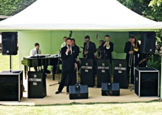 Swing jazz bands weddings
