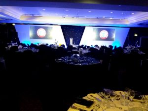 photo of a corporate event