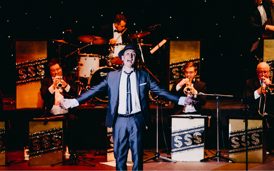 A photo of a Frank Sinatra Tribute in UK