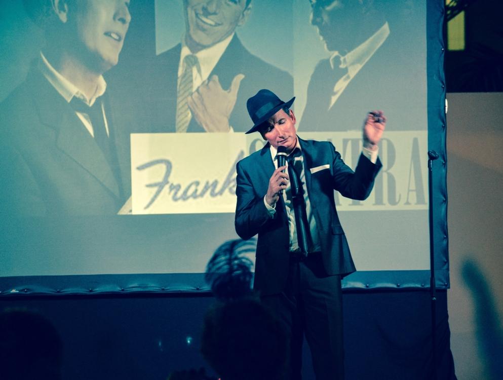 Frank Sinatra wedding singers