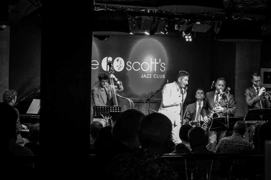 photo of Kevin Fitzsimmons at Ronnie Scotts jazz club